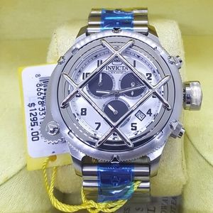 FIRM PRICE-Invicta Swiss Nautilus Caged Chrono